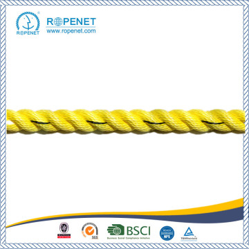 Högkvalitativ Yellow Polyproplene Rope