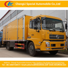 Heavy Duty Dongfeng 4*2 Container Van Box Truck