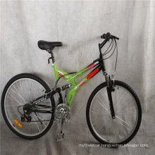 21 Speed Cheap Price Steel Frame Full Suspension Downhill Mens Mountain Bicycles for Adult MTB Bikes