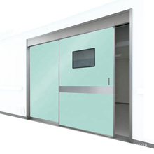 automatic door operator hospital hermetic sliding door for clean room and operation room
