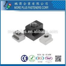 Taiwán Acero inoxidable 18-8 Cobre Latón Aluminio Muttern T-Nuten Tuercas en T Metric M6 DIN 508