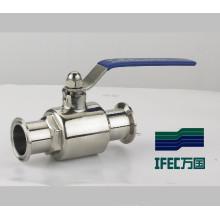 Válvula de bola sanitaria higiénica (IFEC-BV100014)