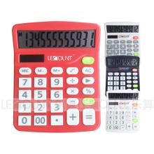Экономичный 12-разрядный калькулятор рабочего стола с двумя ЖК-дисплеями (LC236)