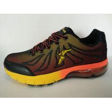 Men′s Leather Shoes Jogging Footwear