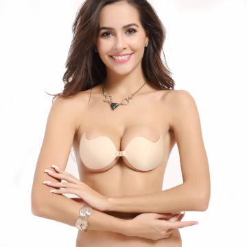 Reggiseno magico in silicone invisibile autoadesivo push-up