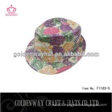 sequin fedora party hat