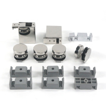 Factory Customized support fittings rollers sliding shower door hardware