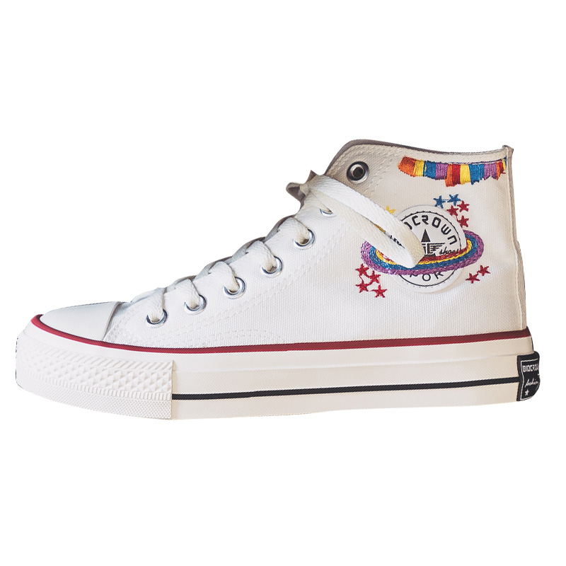 Shoes Embroidery Star
