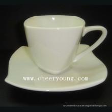 Porzellan-Teekocher-Tasse und Untertasse (CY-P516)