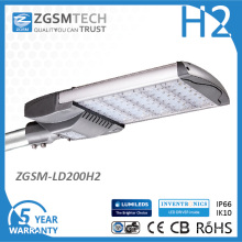 Ce RoHS aprobó 200W Street LED luz con protector contra sobretensiones