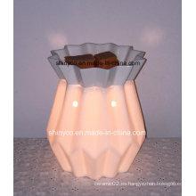 Calentador de lámpara de fragancia eléctrica translúcido con temporizador
