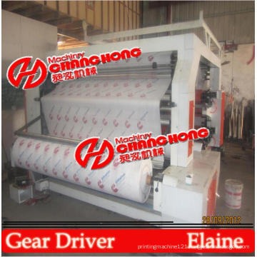 6 Colors Stack Type Flex and Banner Printing Machine