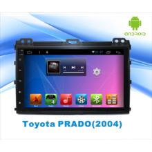 Reproductor de DVD de coche con Bluetooth / WiFi / GPS / Pantalla capacitiva para Toyota Prado Android 5.1 System