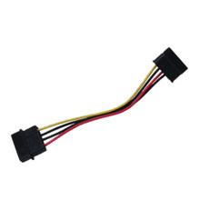 Macho de Molex ao cabo de fio elétrico fêmea do divisor 4p