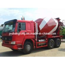 Camion de mélangeur de béton de mélangeur de HOWO 6x4 / 9m3