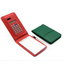 Notepad with Calculator and Pen