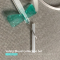 Disposable Safety Blood Collection Set with Holder