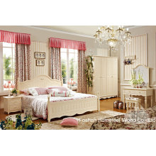 High Quality Classical Wooden Furniture Bedroom Set (HF-MG601)