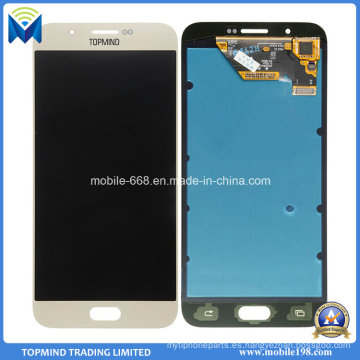 Nueva pantalla LCD original con pantalla táctil digitalizador para Samsung Galaxy A8