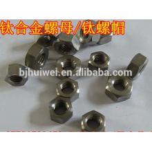 hot sale titanium hex head nut
