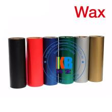 Ruban 110mm * 70m de transfert thermique de code barres de cire d'imprimante de ruban de zèbre