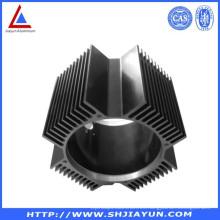 6063 extrusión de radiadores de calefacción de aluminio hechos en China