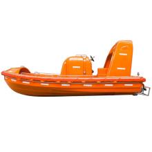 SOLAS 6M F.R.P fast rescue boat lifesaving rigid fiberglass lifeboat