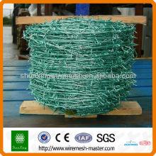 Galvanizado rolo de arame farpado
