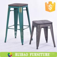 Cheap Metal Stool Outdoor Metal Stool Vintage Industrial Metal Barstool