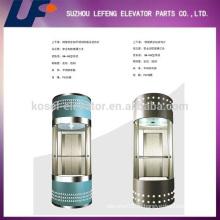 Панорамный пассажирский лифт / жилые стеклянные лифты