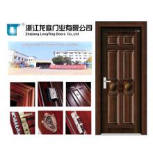 Porte en bois intérieure en acier (LTG-104)