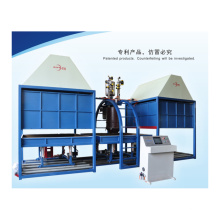 Máquina de fabricación de colchones de espuma de poliuretano por lotes