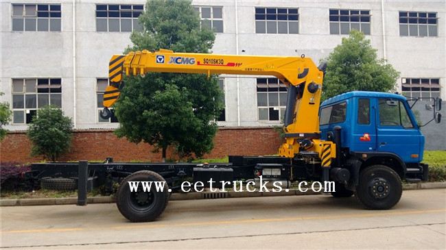Dongfeng Hydraulic Truck Cranes