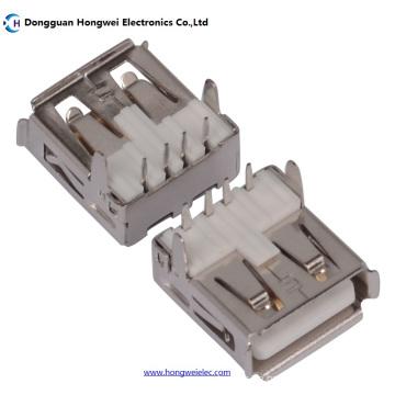 Af weiblich T Typ 90 Grad 4pin USB 2.0 Stecker