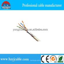 FTP Cat5e LAN Kabel 4pr 24AWG Fabrik Kabel Preis Shanghai Yiwu Fabrik Beste Qualität CCA Cu