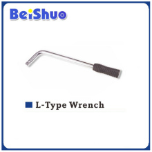 Chromed Plated L-Type Wrench para Roda de carro
