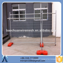 equitable price Australia hot-dipped galvanized PVC coated welded temporary fence (exporter)