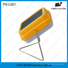 Портативный недорогой мини Солнечная настольная лампа с 2-летней гарантией (ПС-l001 силы)