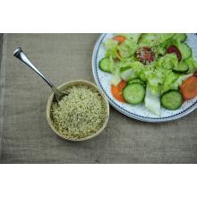 Веганские пищевые очищенные семена конопли