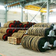 Polea de acero / Polea de goma / Polea de la correa / Polea de transmisión del transportador