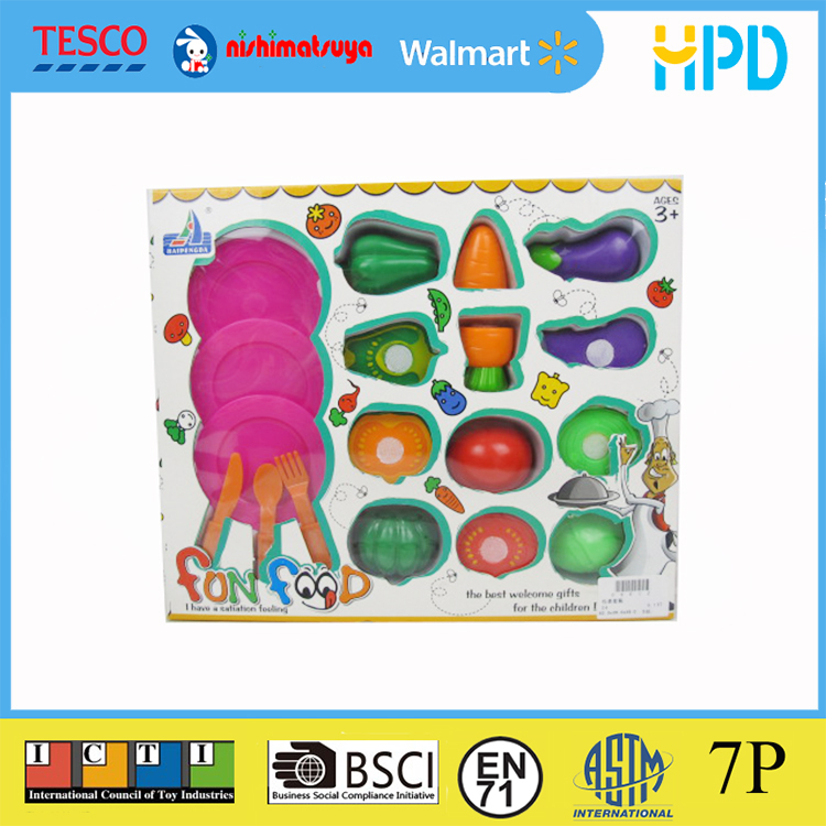 Cutting Fruit Vegetable Toy