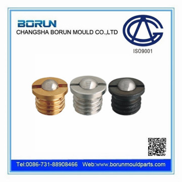 Flange type ball head piston