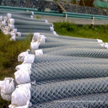 Electro Galvanized Chain Link Metal Mesh Fence