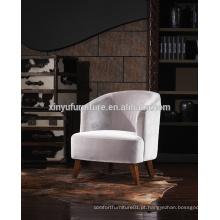 Cadeira de sofá de braço simples de estilo francês de estilo francês A621