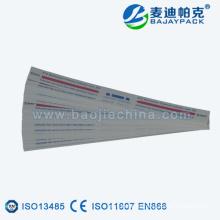 Etiqueta indicadora de esterilización EO y STEAM