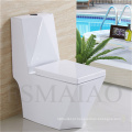 Louça sanitária Venda quente One Piece Ceramic Siphonic Toilet (8111)