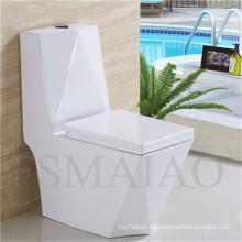 Sanitario de las mercancías Venta caliente de una pieza de cerámica Siphonic WC (8111)