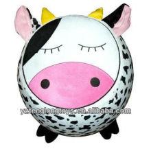 Nuevo tipo de felpa vaca inflable taburete