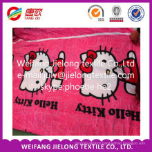 stock polyester fabric in microfiber for bedsheet in weifang