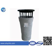 Staubfilterbeutel Käfig mit Filterbeutel für chemische Industrie